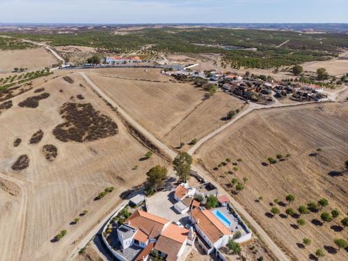 A bird's-eye view of Mértola Natural - Monte da Eirinha