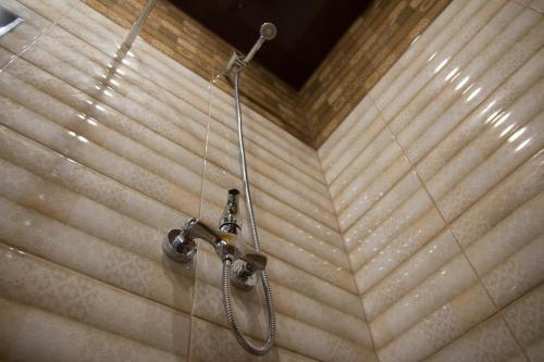 A bathroom at Hotel Baikal