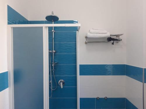 A bathroom at Casa Umberto