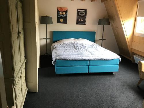 Ein Bett oder Betten in einem Zimmer der Unterkunft Sonop