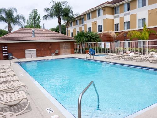 The swimming pool at or near Extended Stay America Suites - Orlando - Convention Center - Universal Blvd