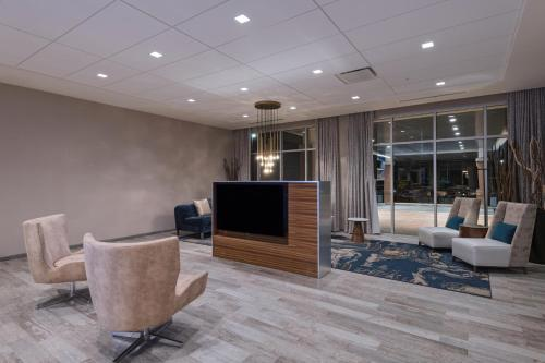 A television and/or entertainment center at Courtyard St. Louis Brentwood