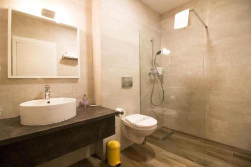 A bathroom at Casa Boca