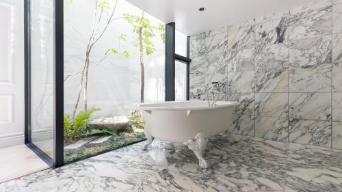 A bathroom at Azabu Ten Tokyo