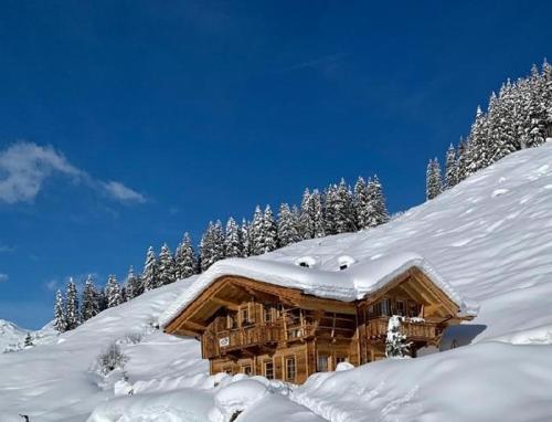 Apartchalet Jörglerhof im Winter