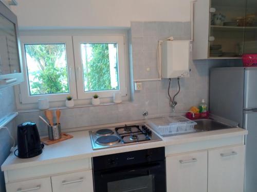 Kuchyňa alebo kuchynka v ubytovaní Apartment Sliskovic