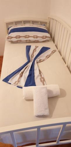Posteľ alebo postele v izbe v ubytovaní Apartment Sliskovic