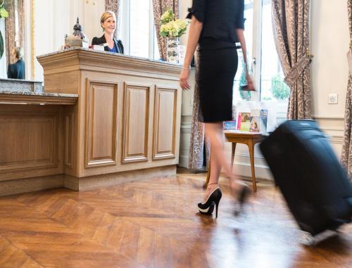 Guests staying at Hôtel Marotte
