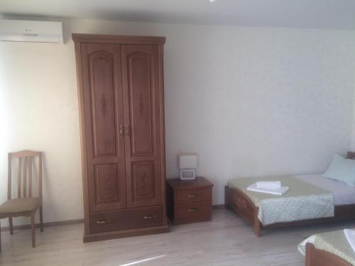Кровать или кровати в номере Гостевой дом Комфорт-Дон