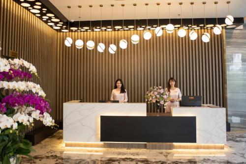 Khu vực sảnh/lễ tân tại ZEN RIVERSIDE HOTEL & RESIDENCES