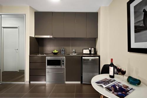 A kitchen or kitchenette at Quest Bondi Junction