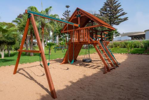Zona de juegos infantil en Odyssee Park hotel