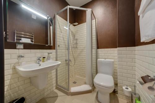 Ванная комната в Отель Мари