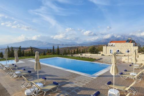 The swimming pool at or close to Orelia Cretan Villas