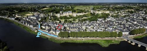 A bird's-eye view of Au Relais Saint Maurice