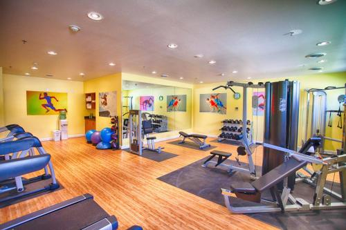 The fitness center and/or fitness facilities at Z Loft Extended Stay Hotel