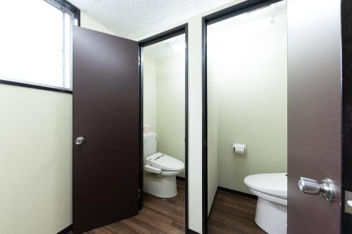 平田パンションにあるバスルーム