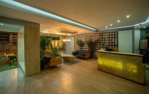 The lobby or reception area at Tan Hotel - Special Category