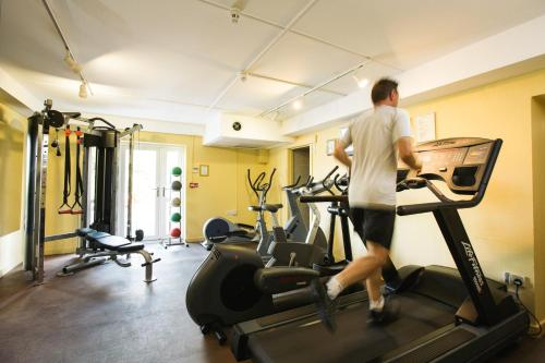 The fitness centre and/or fitness facilities at The Plough Inn