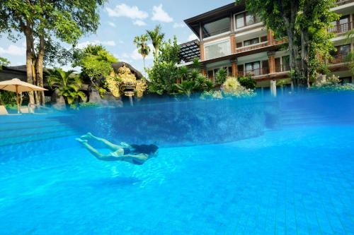 The swimming pool at or near Padma Resort Legian