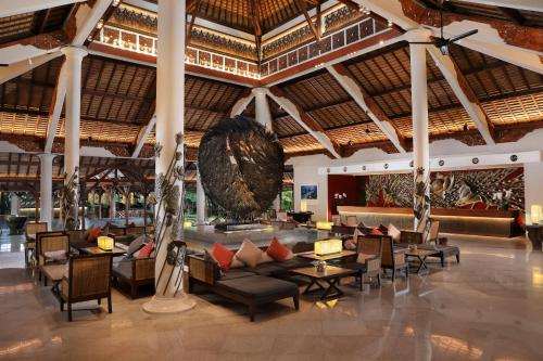 A restaurant or other place to eat at Padma Resort Legian