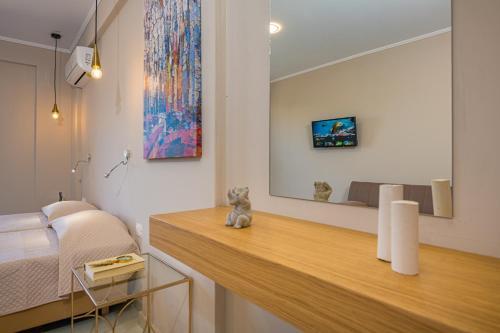 TV o dispositivi per l'intrattenimento presso Nissi Collections Rooms