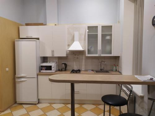 Кухня или мини-кухня в Piterstay on Mayakovskaya