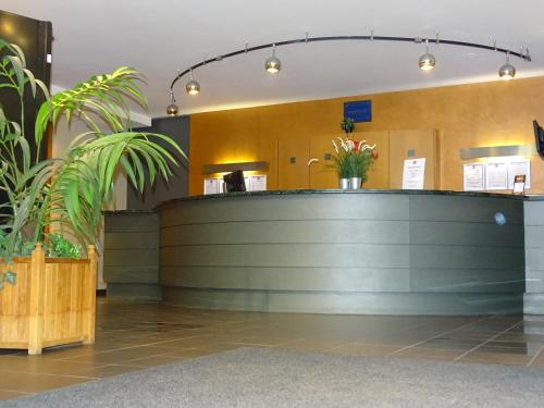 The lobby or reception area at Value Stay Brussels Expo Hotel