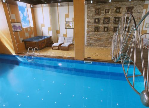 The swimming pool at or near Hotel Anel