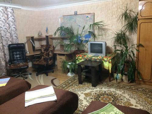 Гостиная зона в Rooms with Fortetsya View