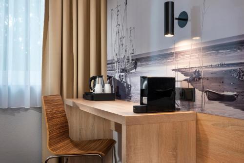 A kitchen or kitchenette at Best Western Hotel Achim Bremen