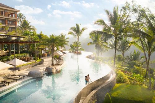 The swimming pool at or close to Padma Resort Ubud