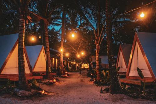 Lampara Siargao Boutique Hostel during the winter