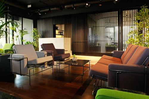 A seating area at Lifestyle Hotel Vitar - Adults Only