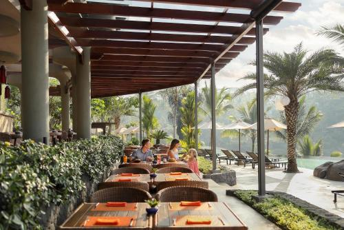 A restaurant or other place to eat at Padma Resort Ubud