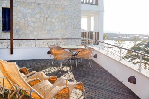 Balcone o terrazza di Portixol Hotel & Restaurant