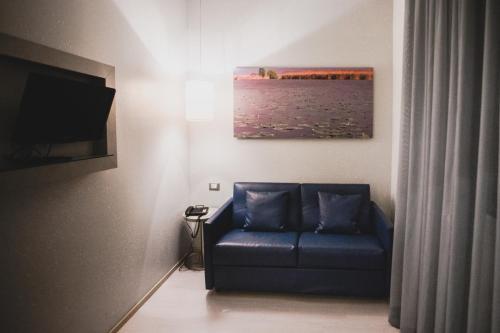 Area soggiorno di Hotel Fiera Wellness & Spa