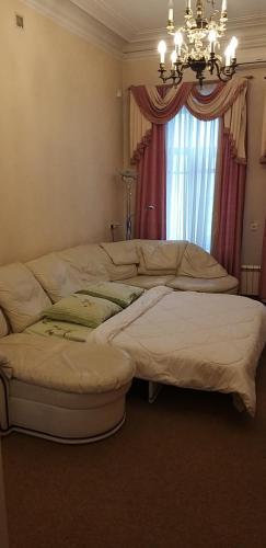 Кровать или кровати в номере Heart Тверская