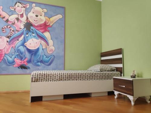 Cama ou camas em um quarto em Transfer&Breakfast LUX Apart #38
