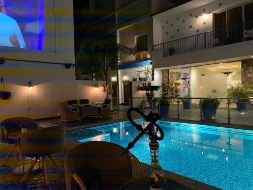 A piscina localizada em Il Villaggio Luxury Villas ou nos arredores
