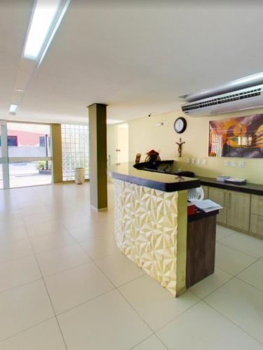 The lobby or reception area at Maktub Hotel
