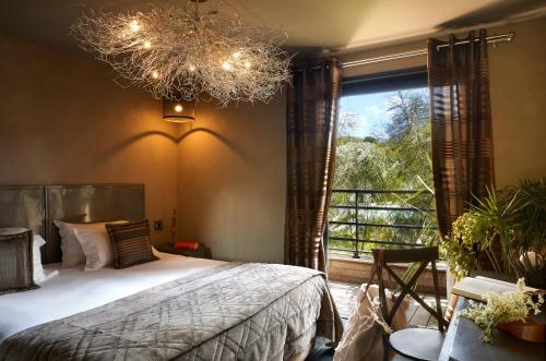 Un ou plusieurs lits dans un hébergement de l'établissement Hôtel E Tre Stelle