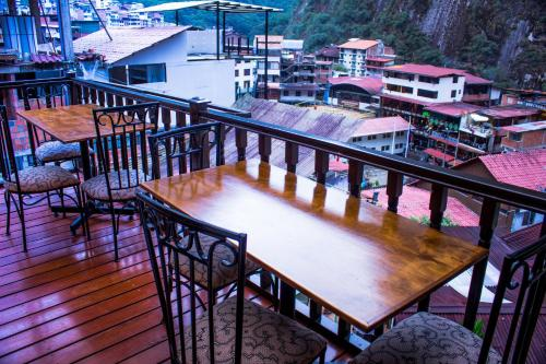 A balcony or terrace at Gringo Bill's Boutique Hotel