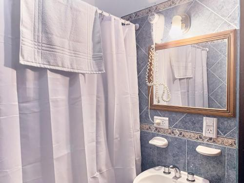 Un baño de Hotel Cumbres Nevadas
