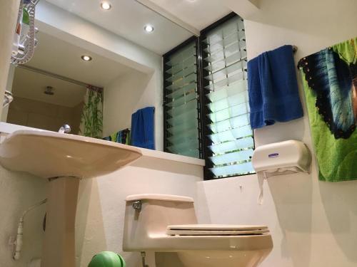 Salle de bains dans l'établissement Paris Confort B&B