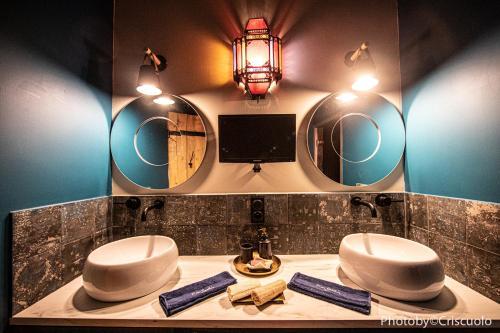 A bathroom at Le Hammam du Panier