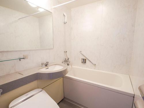 A bathroom at Hearton Hotel Nishi Umeda