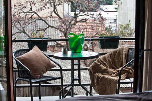 A balcony or terrace at Boutique Hotel 27