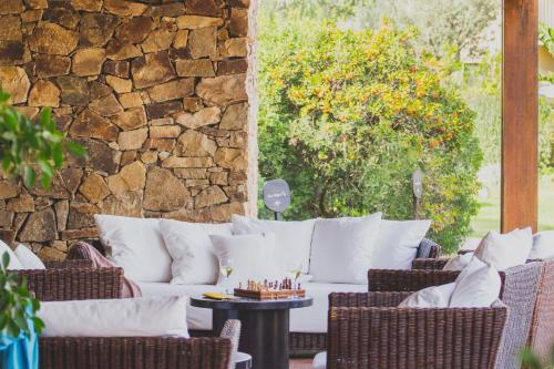 A porch or other outdoor area at Hotel Aquadulci