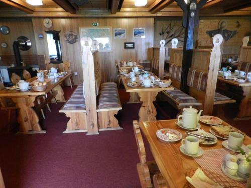 Restaurace v ubytování Moravia Soláň, horská chata